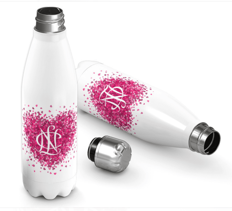 National Charity League Conference Heart Stainless Bottle