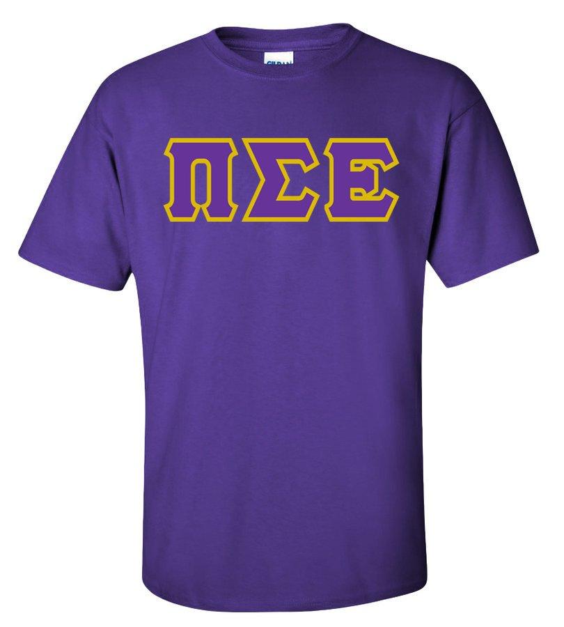 Pi Sigma Epsilon Lettered T-Shirt