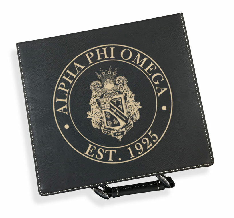 Alpha Phi Omega Poker Set