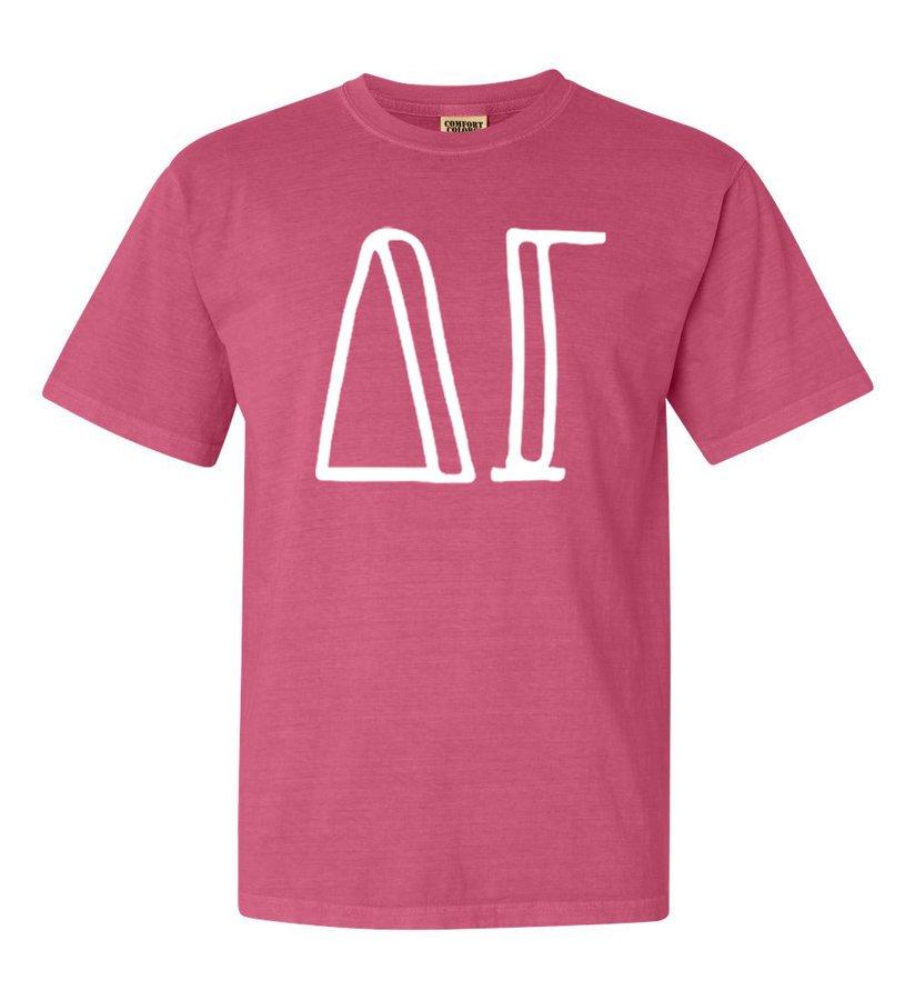 Delta Gamma Comfort Colors Heavyweight Design T-Shirt