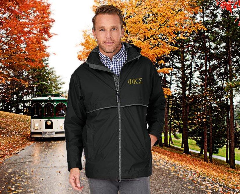 Phi Kappa Sigma Men's New Englander® Rain Jacket