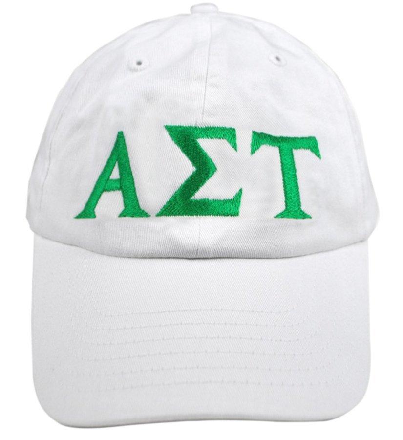 Alpha Sigma Tau Greek Letter Hat
