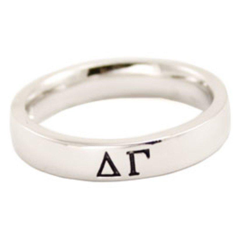 Sorority Thin Band Ring