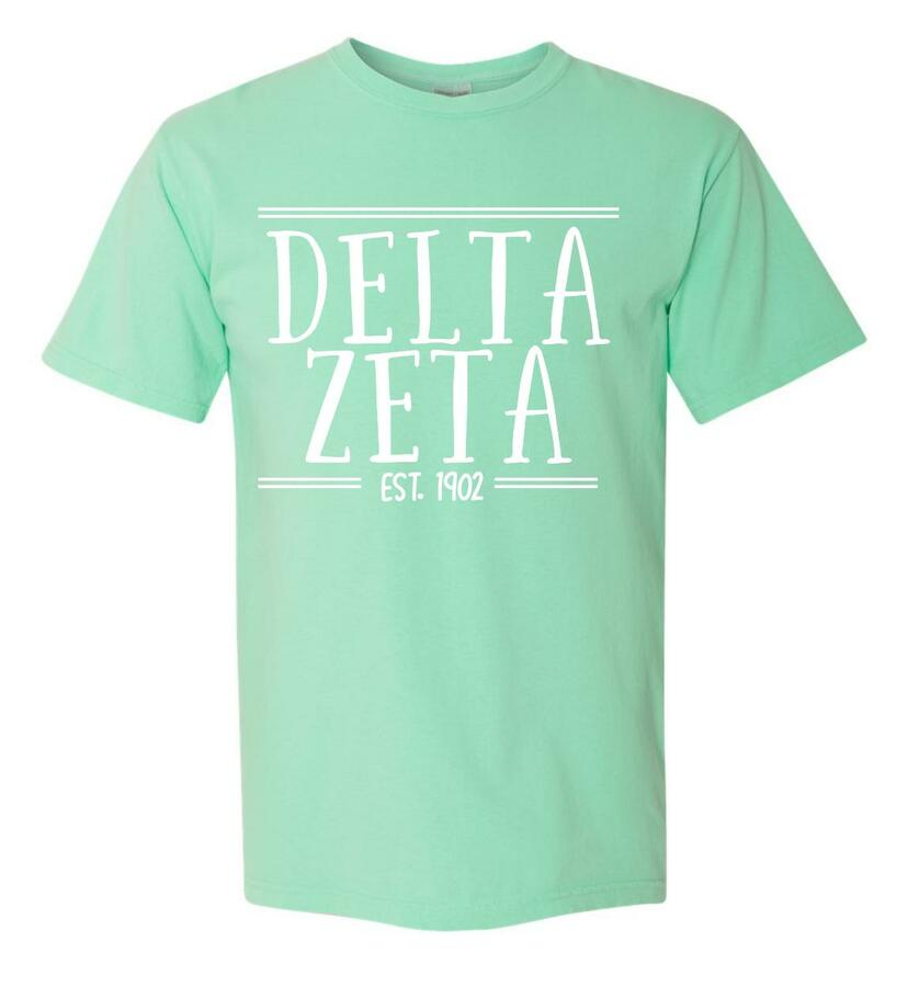 Sorority Comfort Colors Custom Heavyweight T-Shirt