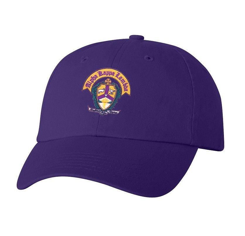 DISCOUNT-Alpha Kappa Lambda Crest - Shield Hat