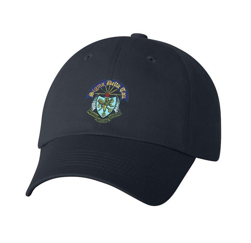 DISCOUNT-Sigma Delta Tau Crest - Shield Hat
