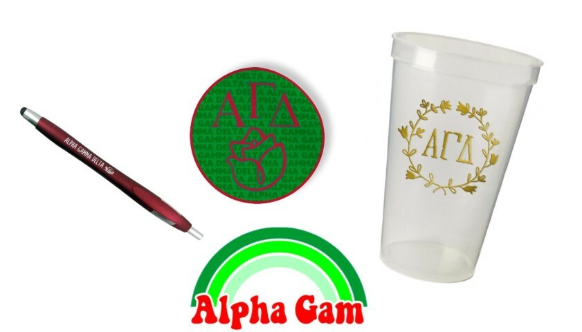 Alpha Gamma Delta Sorority For Starters Collection $9.99