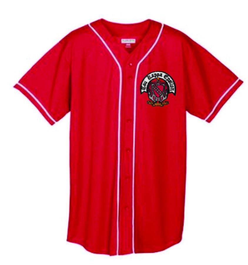 DISCOUNT-Greek Wicking Mesh Baseball Jersey