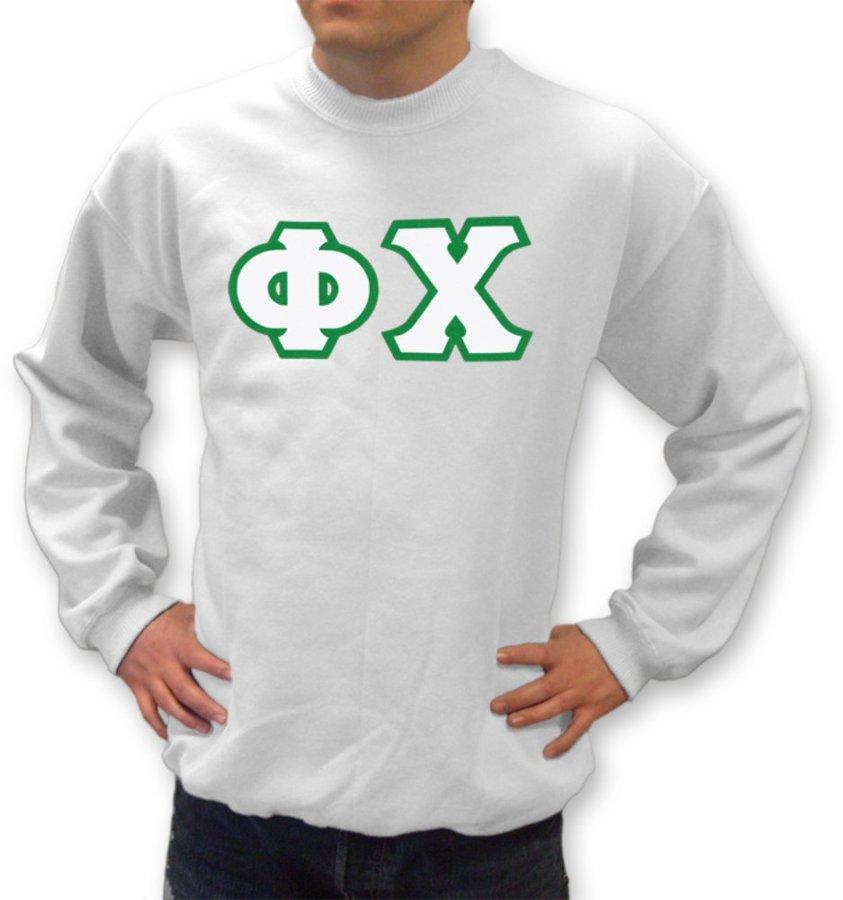Phi Chi Lettered Lettered Sweatshirt