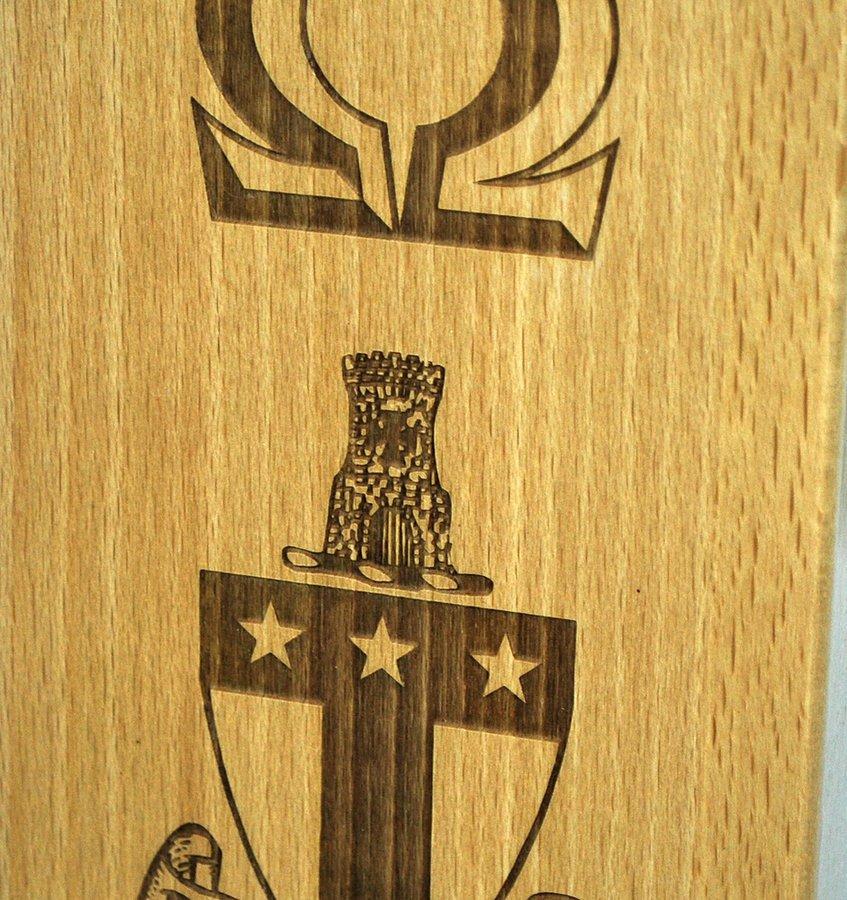 Custom Engraved Paddle