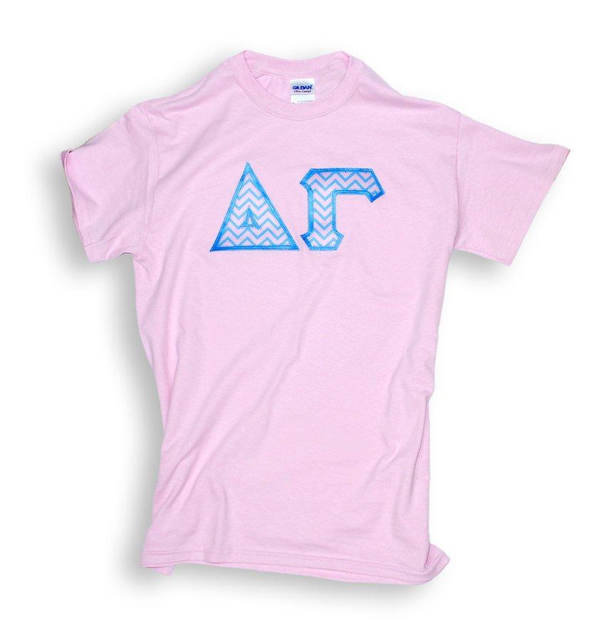 Sorority Chevron Tackle Twill T-Shirt