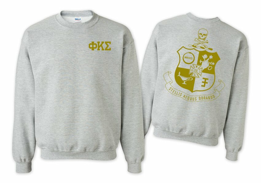 Phi Kappa Sigma World Famous Crest - Shield Crewneck Sweatshirt- $25!
