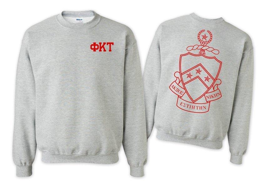 Phi Kappa Tau World Famous Crest - Shield Crewneck Sweatshirt- $25!