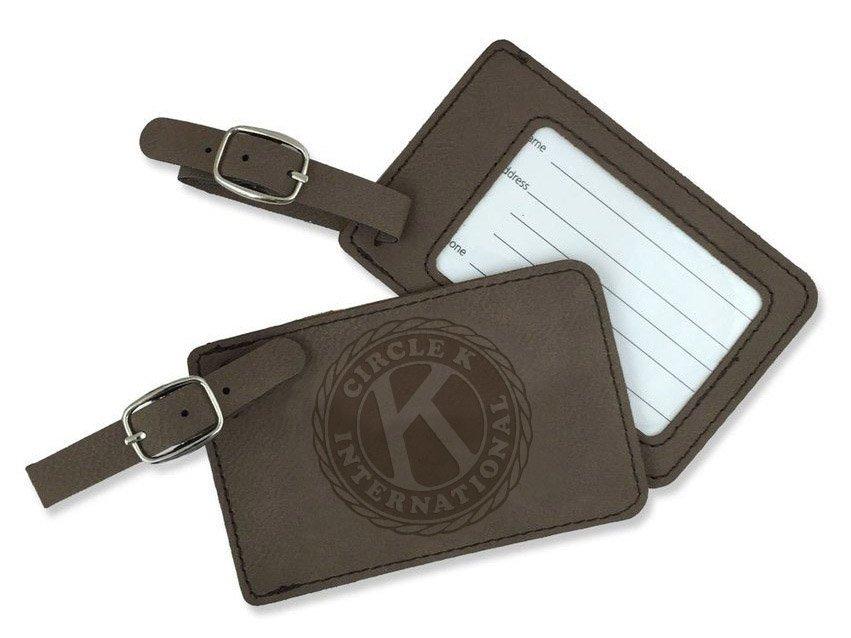 Circle K Leatherette Luggage Tag