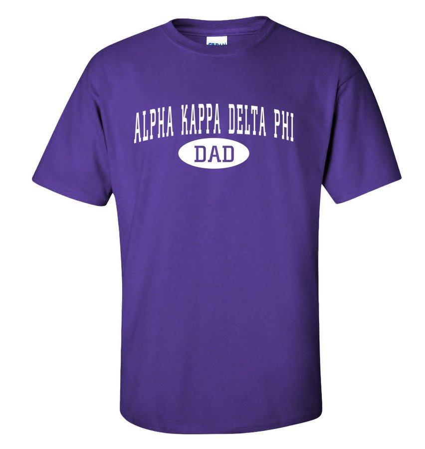 alpha Kappa Delta Phi Dad T-Shirt