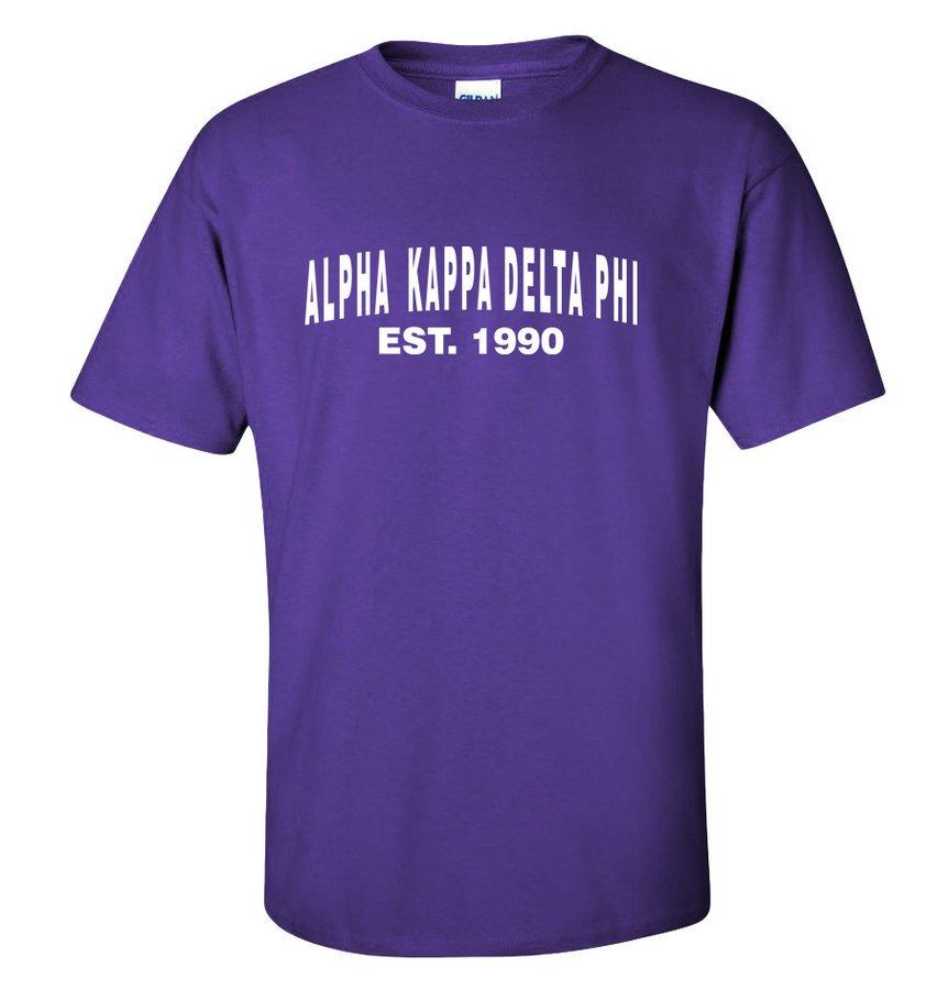 alpha Kappa Delta Phi Est. T-Shirt