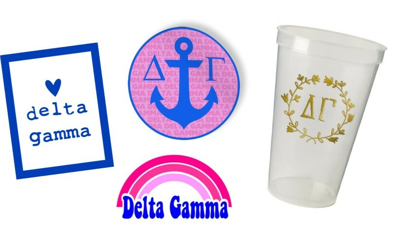 Delta Gamma Sorority Large Pack $15.00
