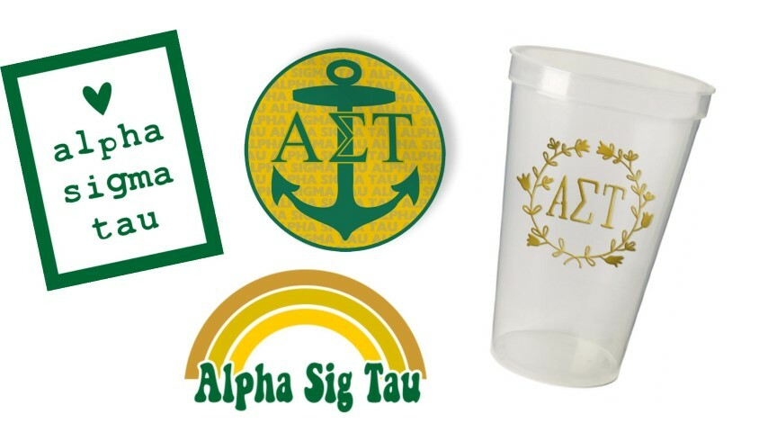 Alpha Sigma Tau Sorority Large Pack $15.00