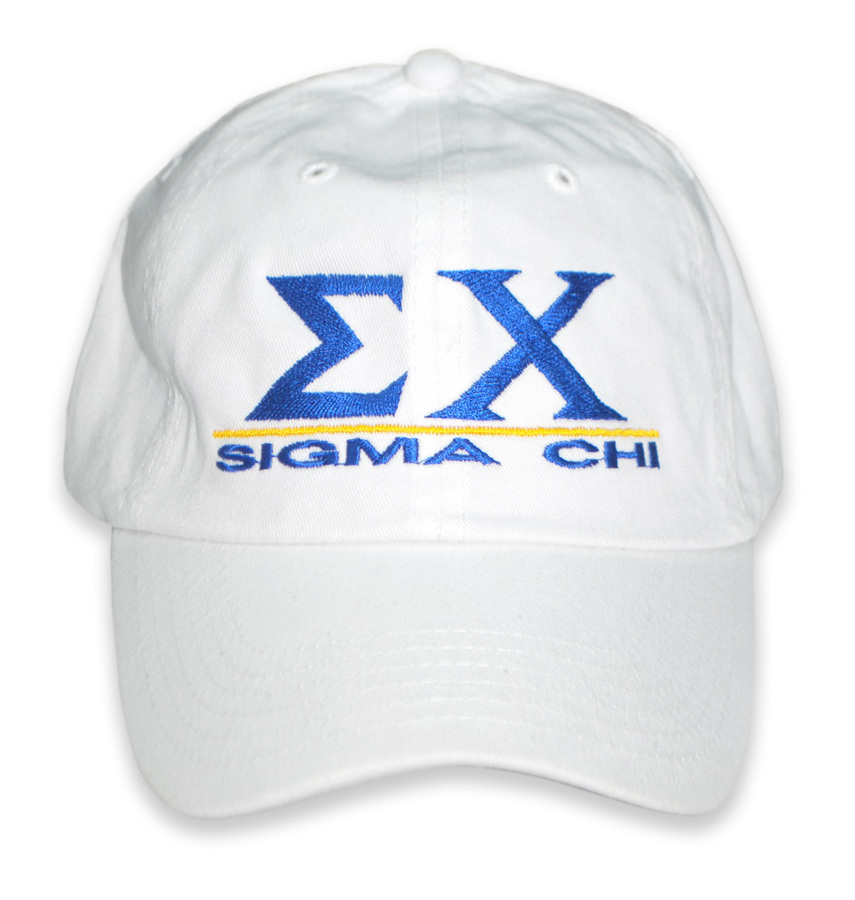 Custom Fraternity & Sorority Embroidered Hat