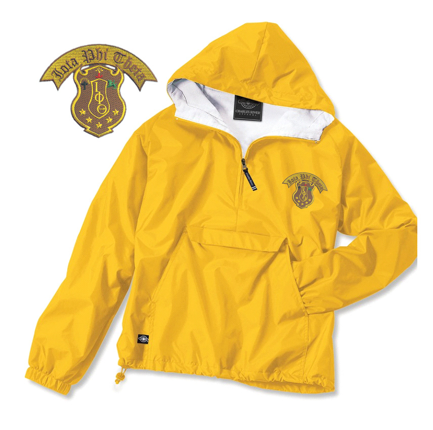 Fraternity & Sorority Greek Emblem Anorak