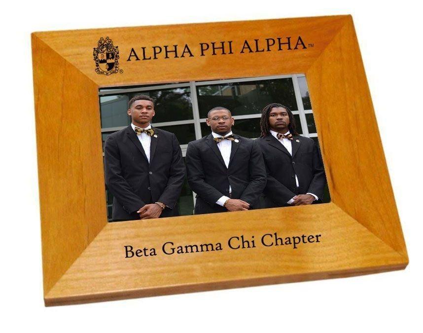 Alpha Phi Alpha Crest Picture Frame