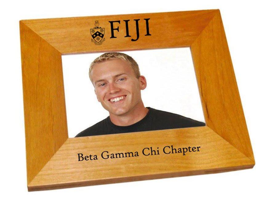 FIJI Fraternity Crest Picture Frame