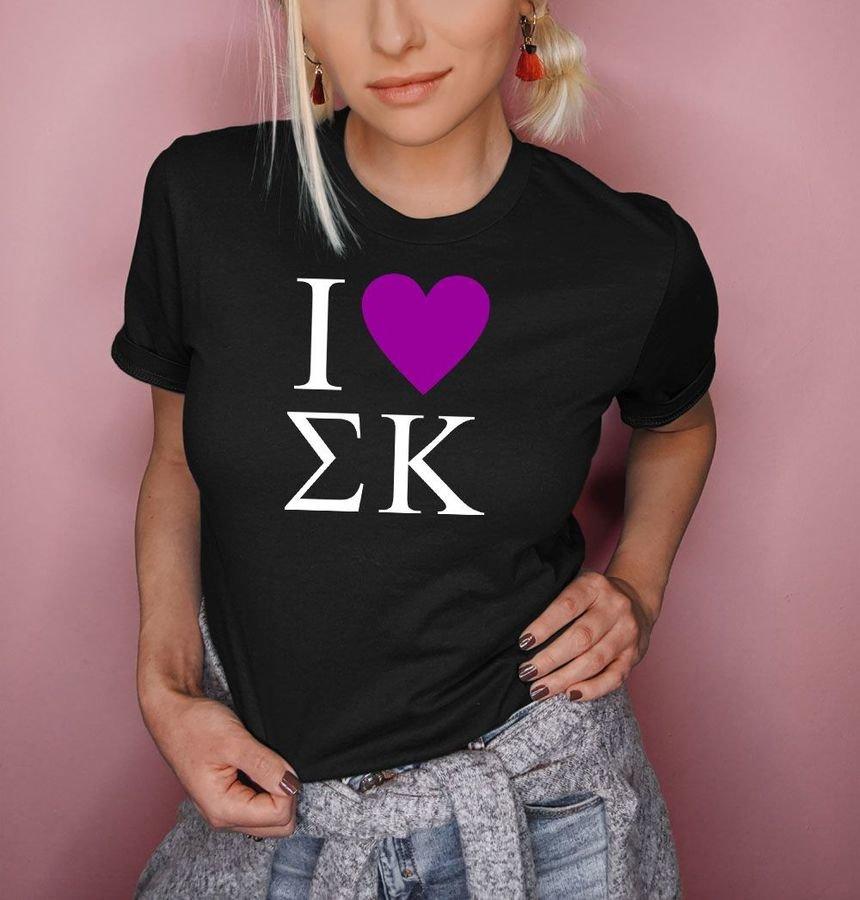 I Love Sigma Kappa T-Shirts