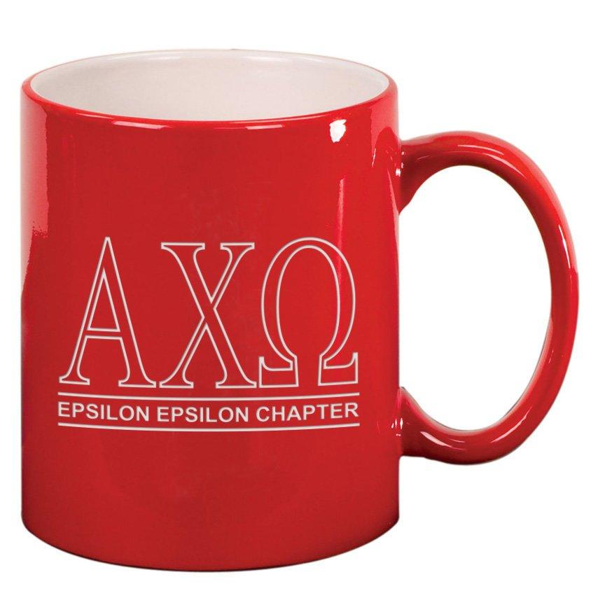 Custom Greek Ceramic Coffee Mug