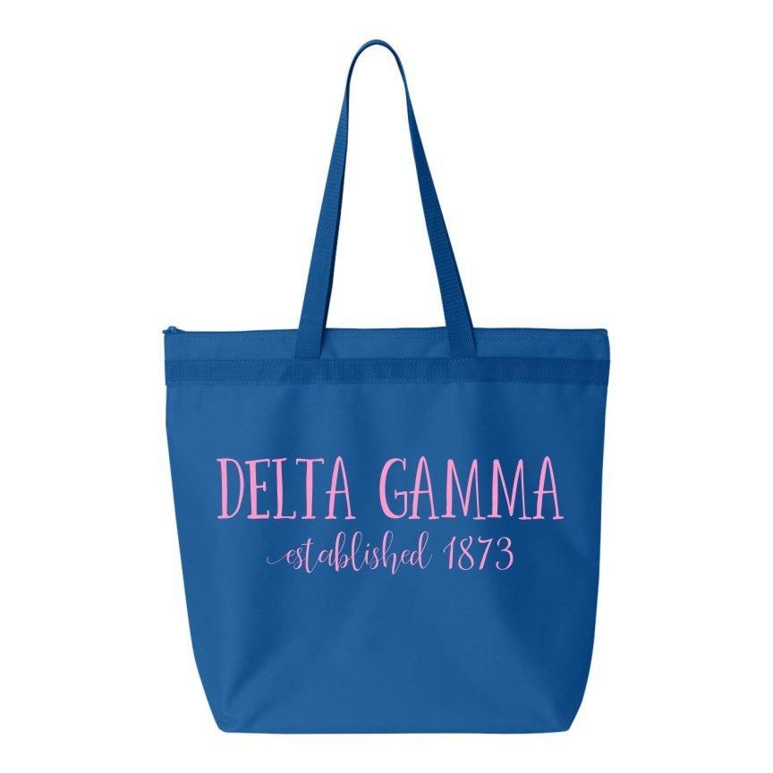 Delta Gamma Established Tote bag