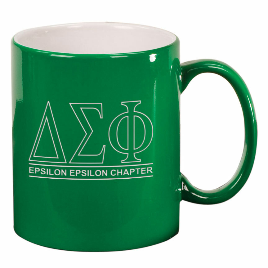 Delta Sigma Phi Custom Ceramic Coffee Mug