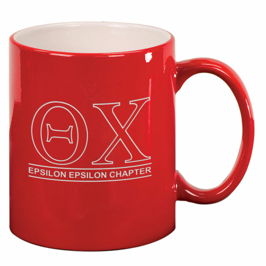 Theta Chi Custom Ceramic Coffee Mug