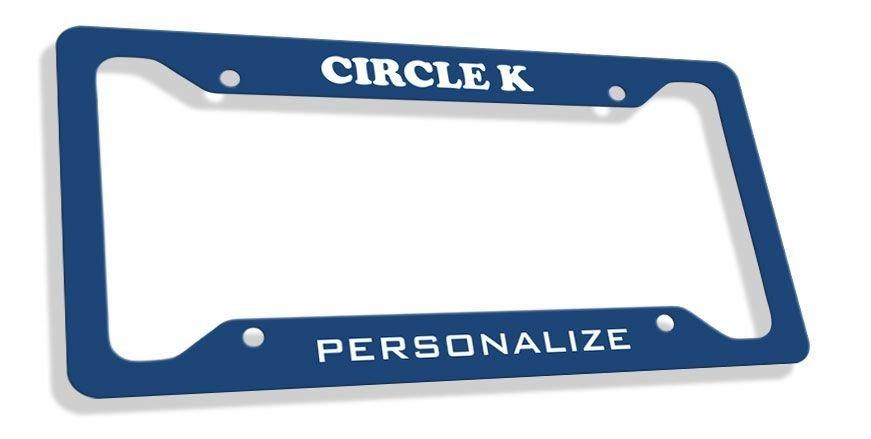 Circle K Custom License Plate Frame