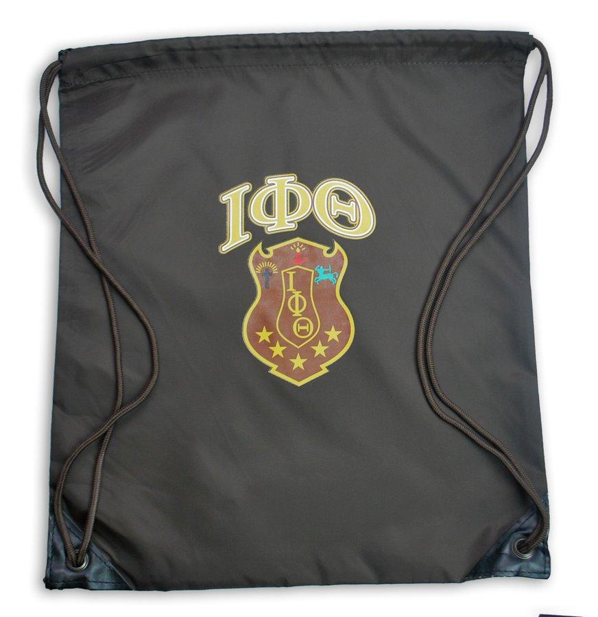 Iota Phi Theta Crest - Shield Cinch Sack