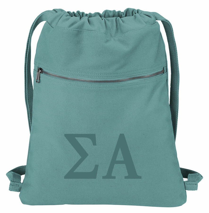 Sigma Alpha Beach Wash Cinch Pack