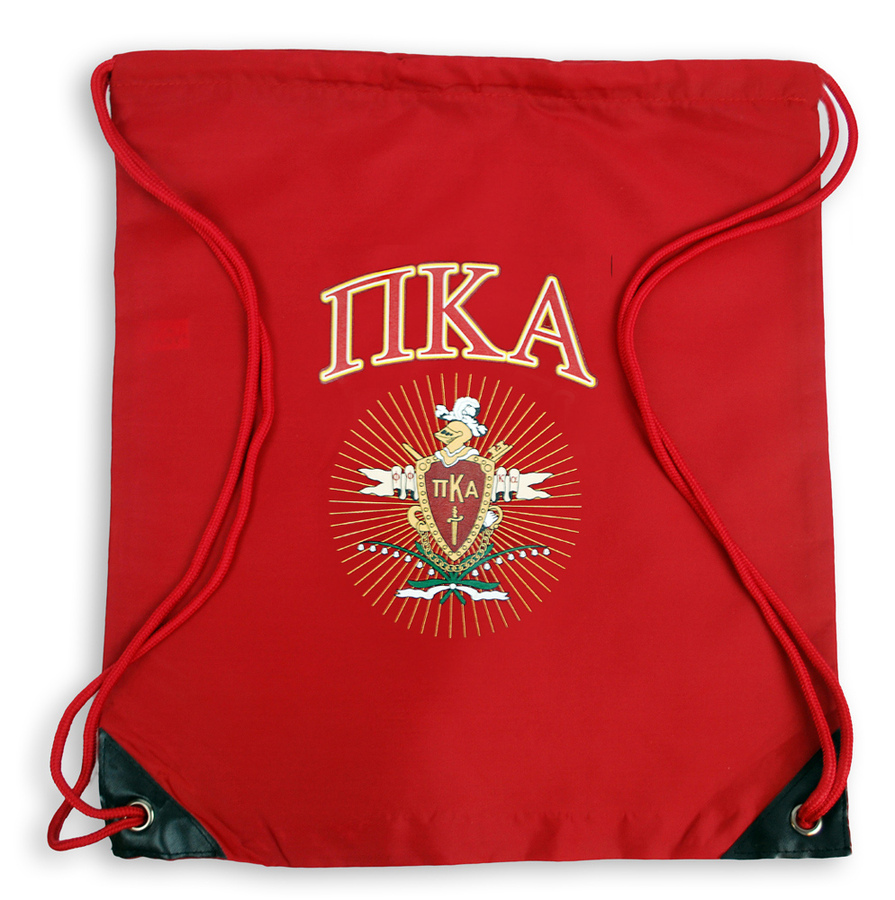 Pi Kappa Alpha Crest - Shield Cinch Sack