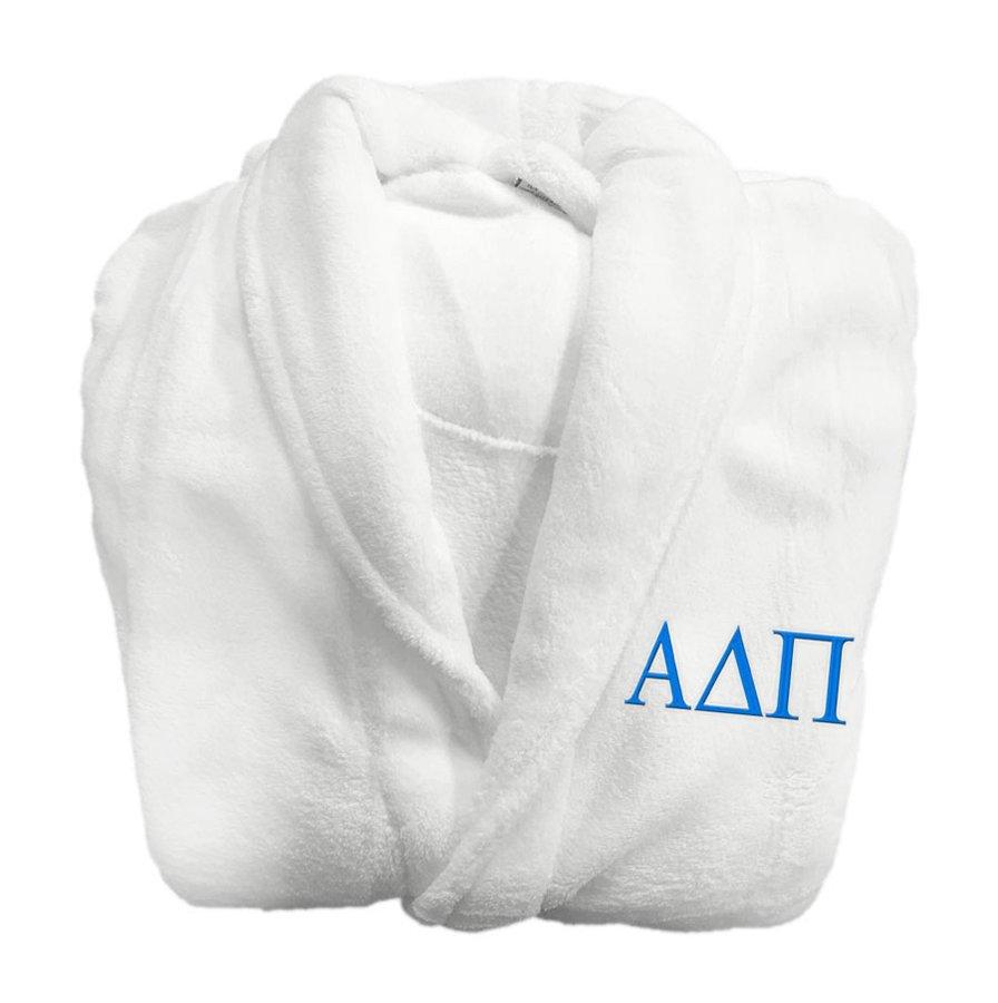Alpha Delta Pi Greek Letter Bathrobe