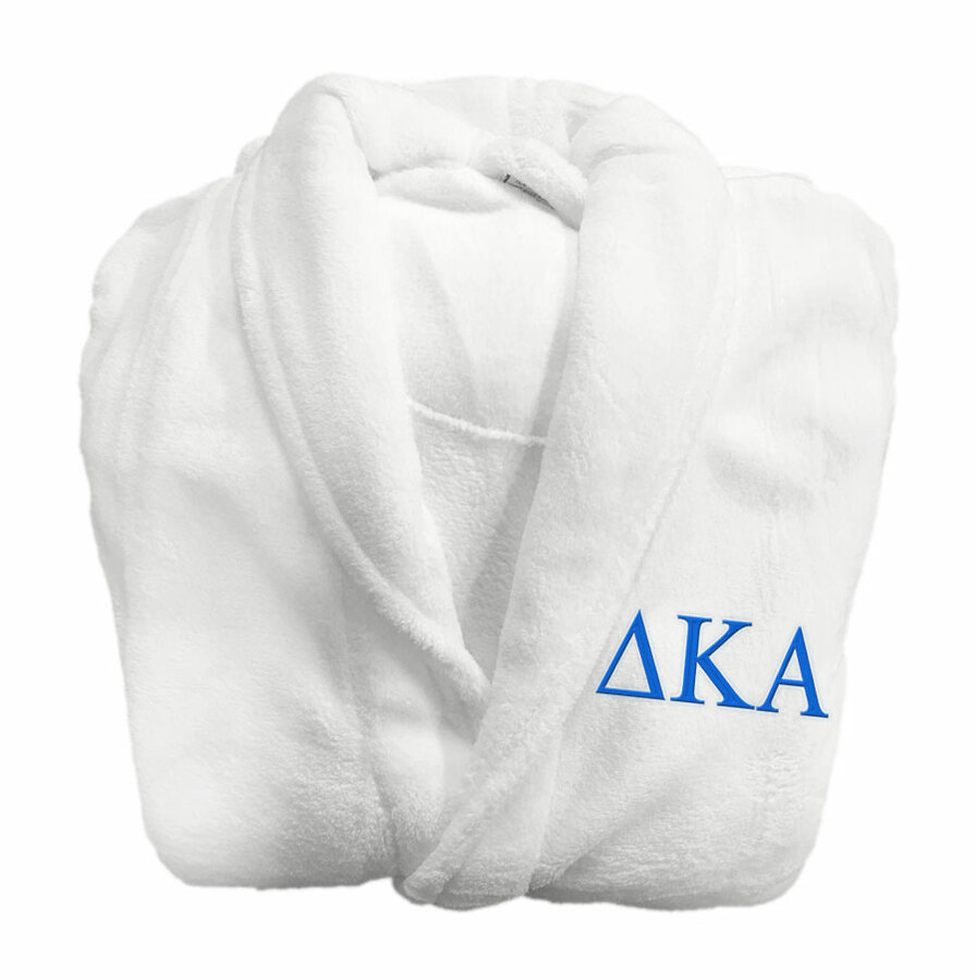 Delta Kappa Alpha Fraternity Lettered Bathrobe