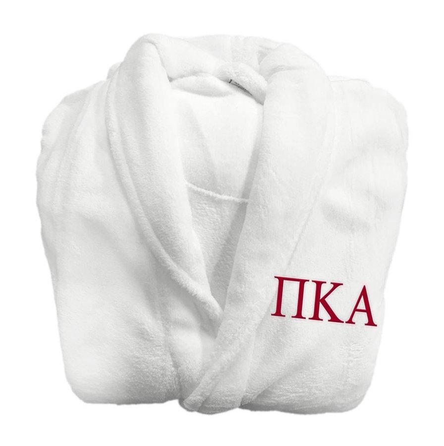 Pi Kappa Alpha Fraternity Lettered Bathrobe