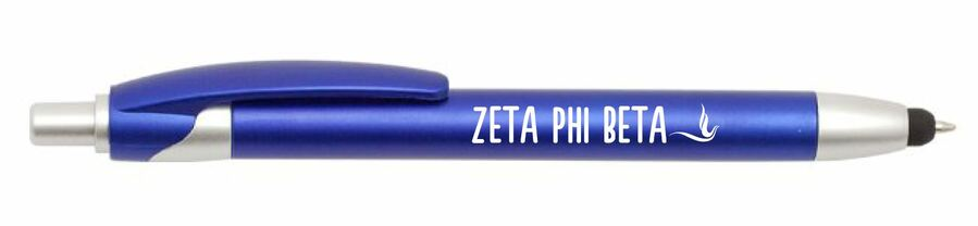 Zeta Phi Beta Retractable Stylus Pen