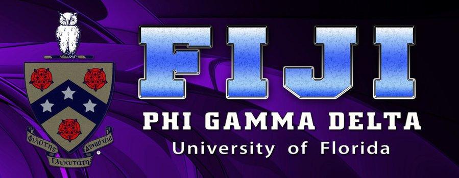 FIJI Fraternity Vinyl Banner