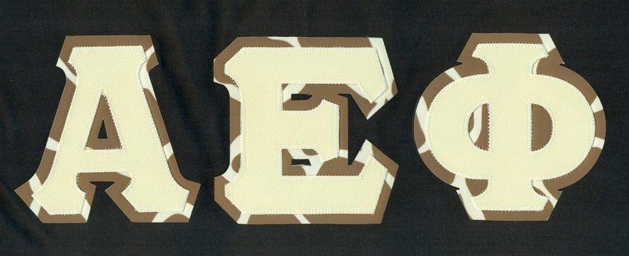 A E Phi Giraffe Greek Letters Print Tee SALE $22 95  - Greek
