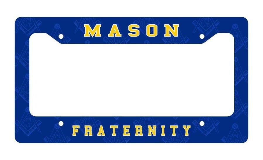 Mason / Freemason License Plate Frame