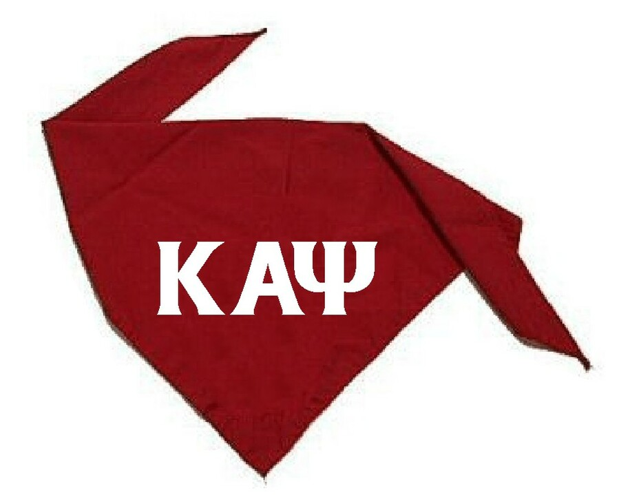 Greek Dog Bandana