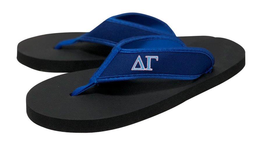 DISCOUNT-Delta Gamma Flip Flop Sandals