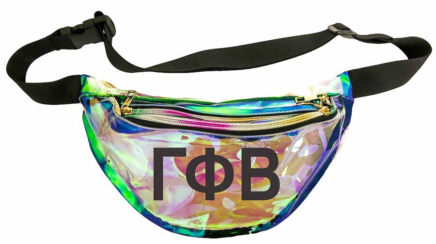 Gamma Phi Beta Holographic Fanny Pack