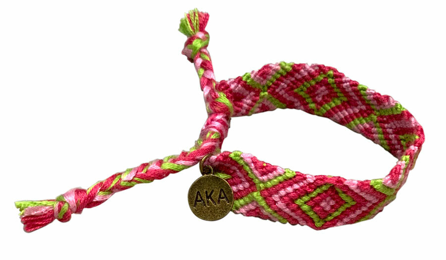 Alpha Kappa Alpha Friendship Bracelet - Limited Supply