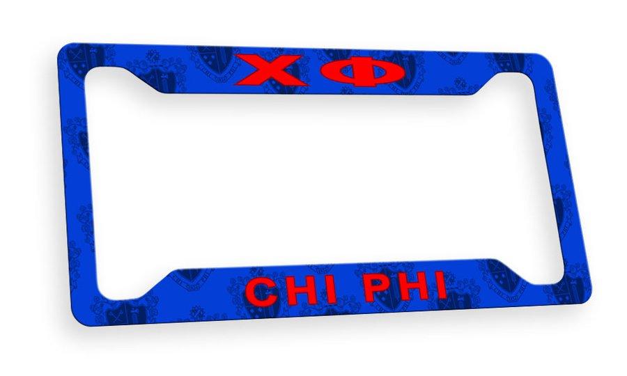 Chi Phi Custom License Plate Frame