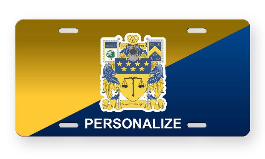 Delta Upsilon License Cover