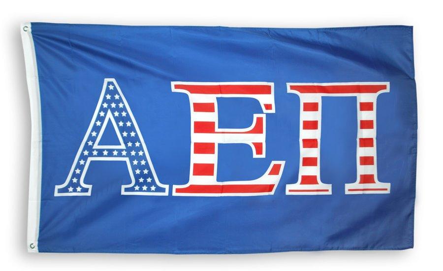 Alpha Epsilon Pi 3 X 5 USA Flag