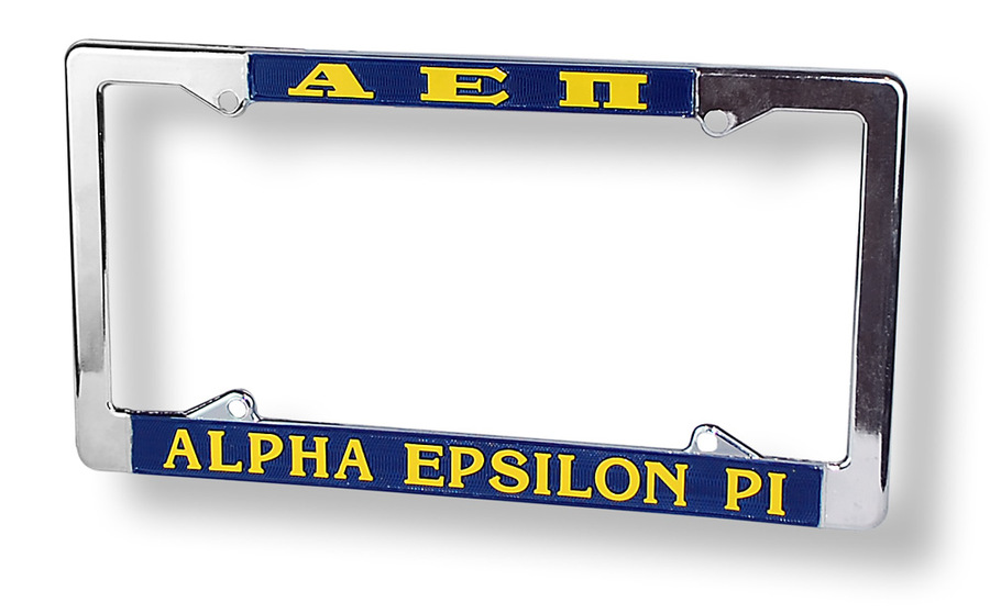 Alpha Epsilon Pi License Plate Frame